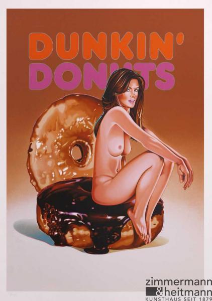 Mel Ramos – Dunkin Donuts