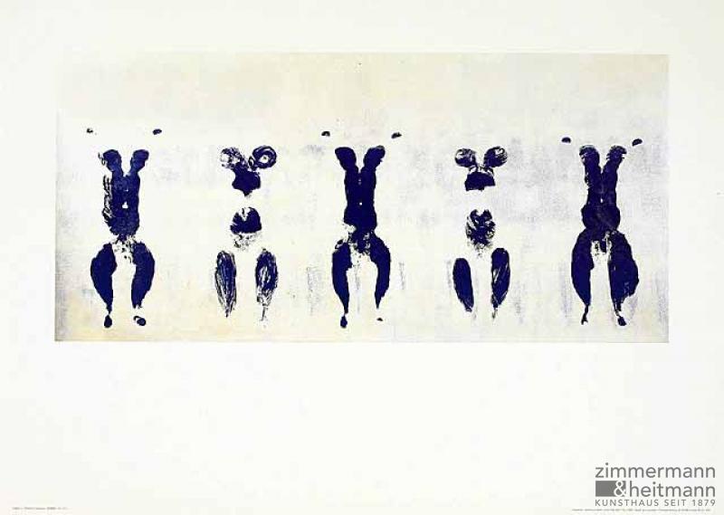 Yves Klein - Anthropometrie