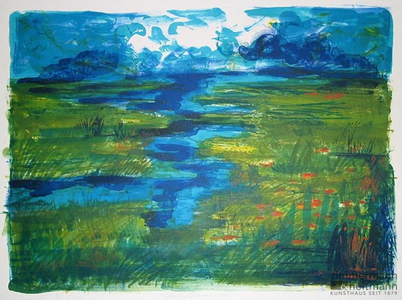 Rainer Fetting – Nordische Landschaft