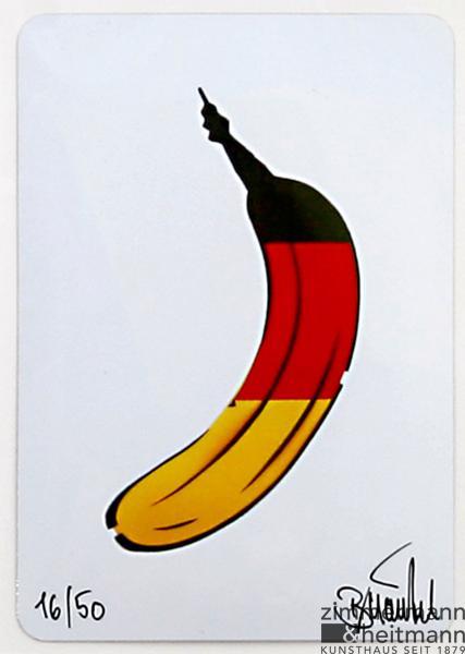Deutschlandbanane, Thomas Baumgärtel