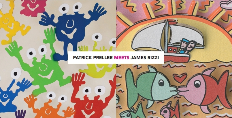 Patrick Preller meets James Rizzi