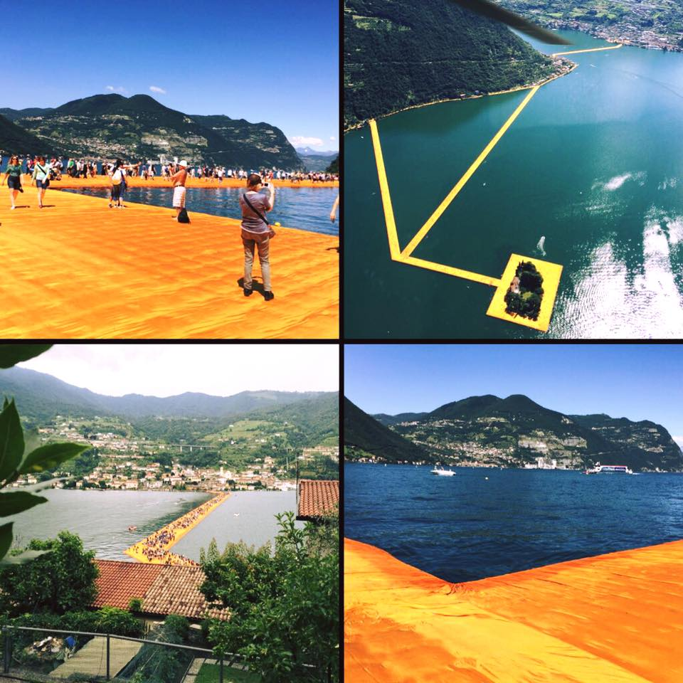 Floating Piers von Christo