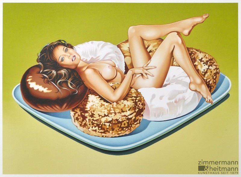 Mel Ramos Donut Dolls