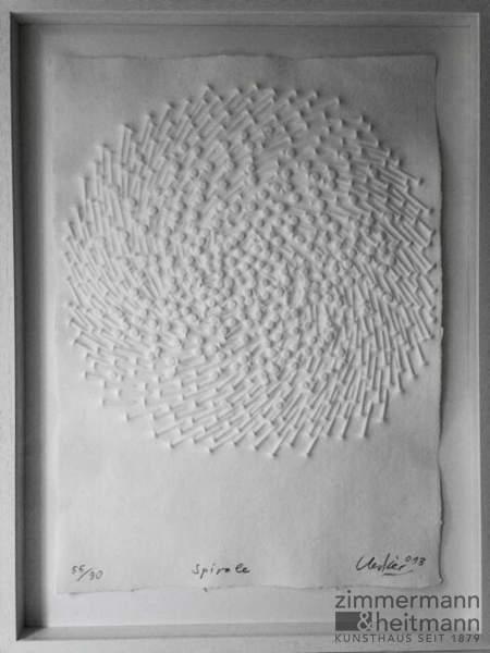 """Günther Uecker """"Spirale 2013"""""""