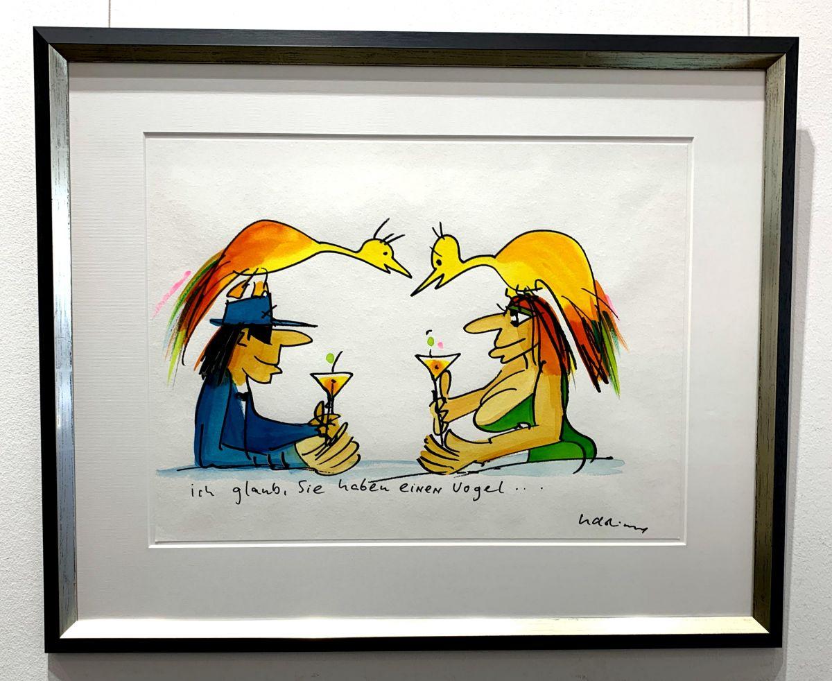 """Udo Lindenberg """"Ich glaub Sie haben einen Vogel"""""""