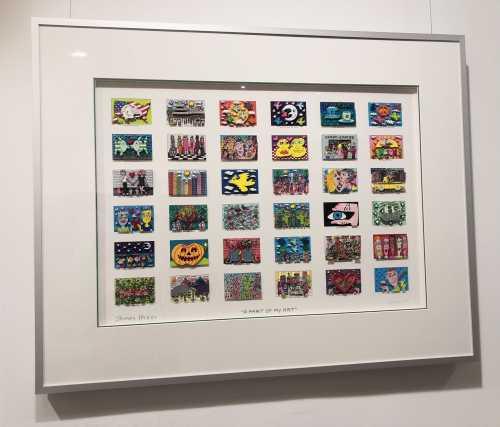 """James Rizzi """"A Part oy my Art"""""""