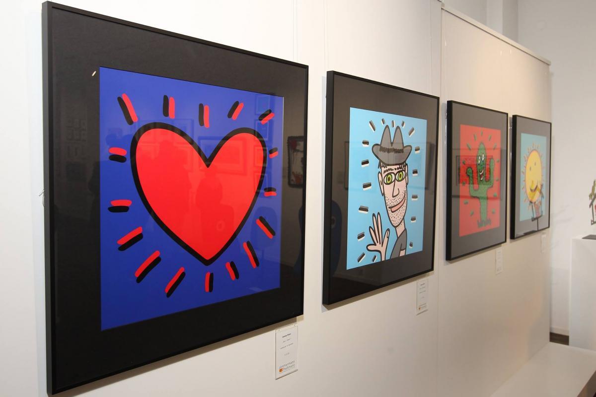 James Rizzi Bilder bei Galerie Zimmermann & Heitmann
