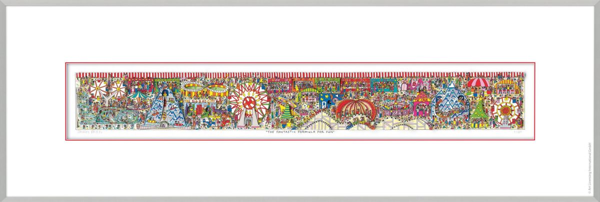"JAMES RIZZI ""The Fantastic Formula For Fun"""