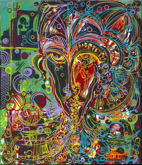"Leon Löwentraut ""Diffenrent Minds II"""