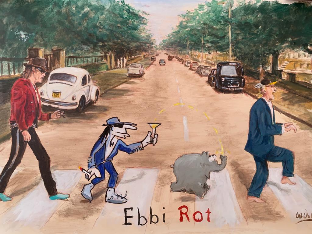 """Otto Waalkes """"Ebbi Rot 2020"""""""