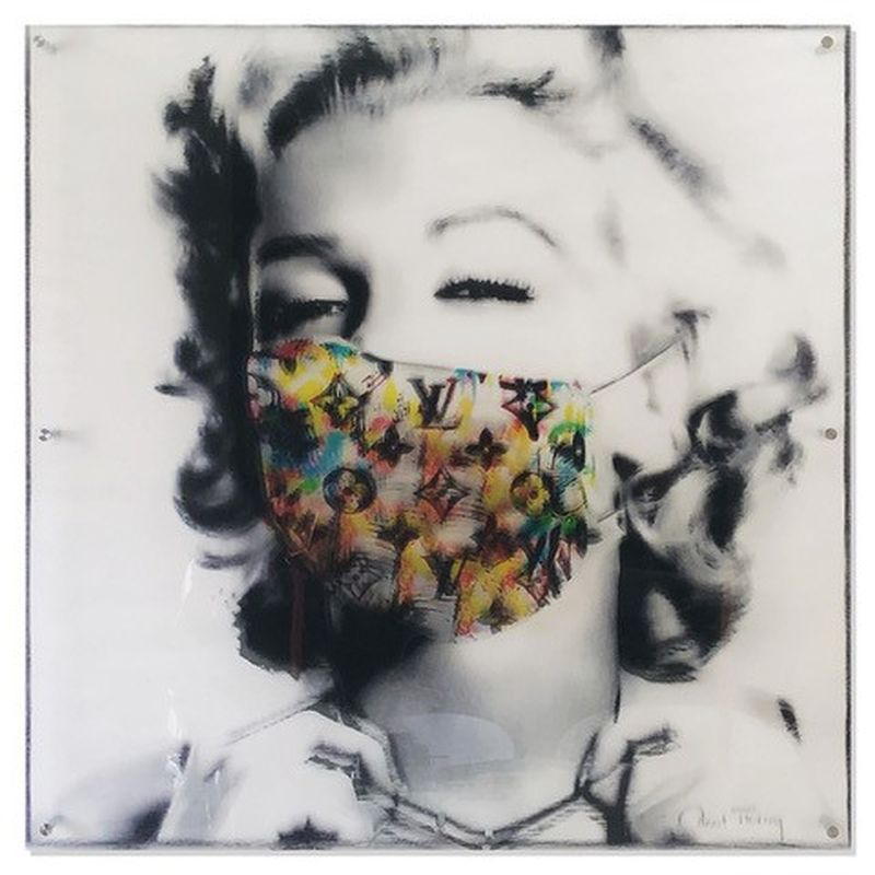 "Paul Thierry ""Marilyn with Mask"""