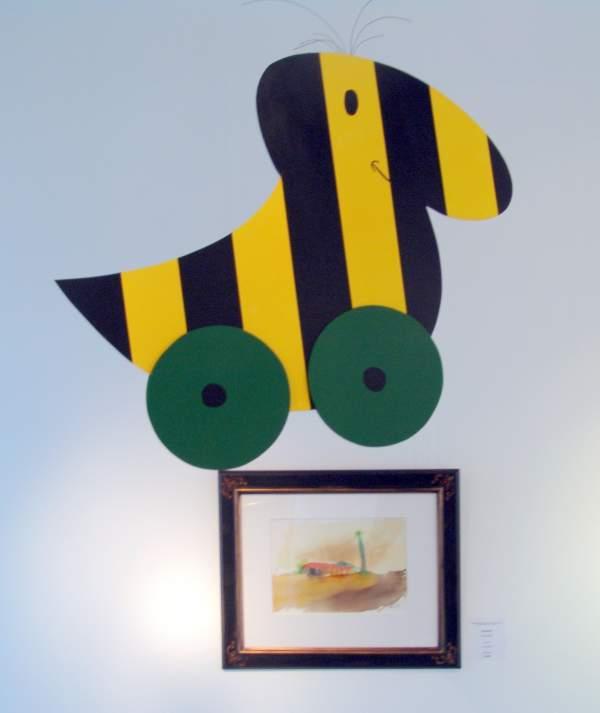 Tigerenten in der Galerie