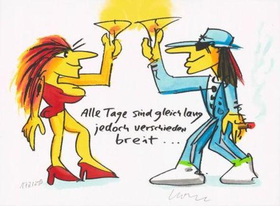 """Udo Lindenberg """"Alle Tage sind gleich lang jedoch verschieden breit"""""""