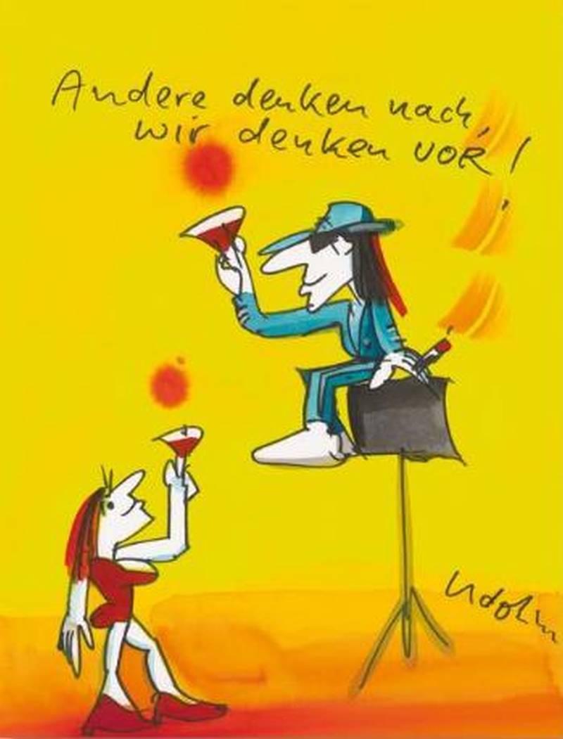 """Udo Lindenberg """"Andere denken nach, wir denken vor"""""""