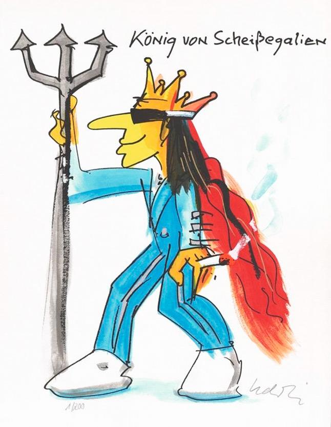 """UDO LINDENBERG """"König von Scheissegalien"""""""