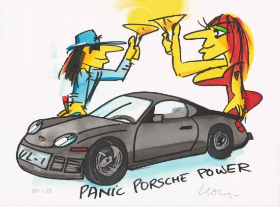 "Udo Lindenberg ""Panic Porsche Power"""
