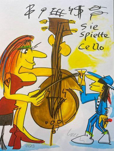 """Udo Lindenberg """"Sie spielte Cello"""" Siebruck"""