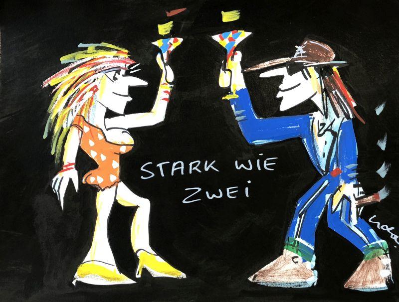 "Udo Lindenberg 2Stark wie Zwei"""