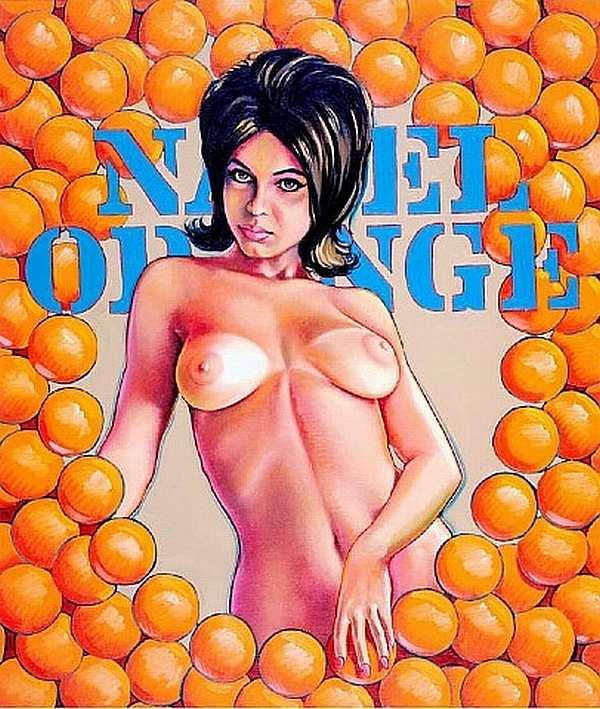 """""""Naval Orange"""" von Mel Ramos"""