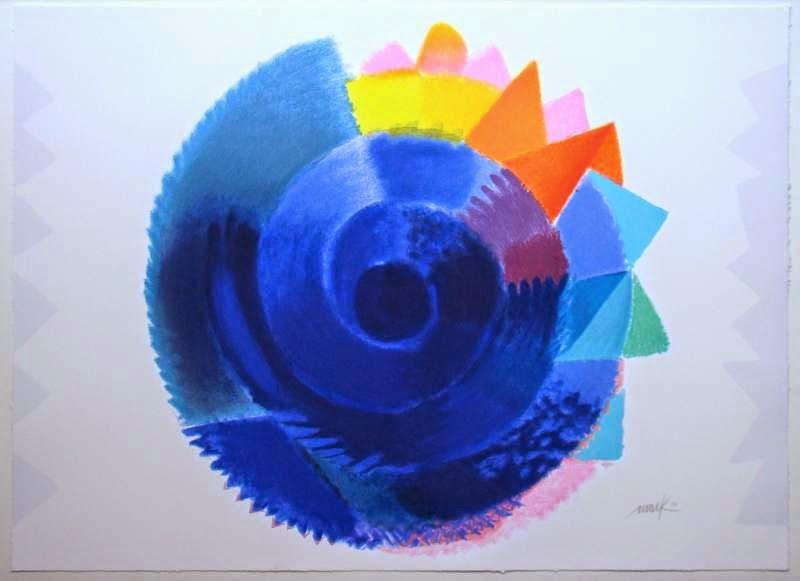 """Rotation 2014"" Heinz Mack"