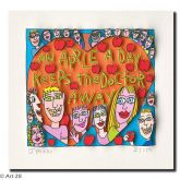 "James Rizzi ""An Apple A Day Keeps The Doctor Away"""