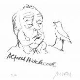 "Armin Mueller-Stahl ""Alfred Hitchcock"""