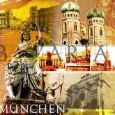 """Fritz Art """"München Collage"""""""
