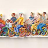 "David Gerstein ""Biking A,B (Papercut)"""