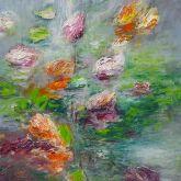 """Dagmar Vogt """"Blüten am See II"""""""