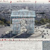 "Christo ""Arc de Triomphe (Project for Paris)"""