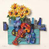 "David Gerstein ""City Celebration (Papercut)"""