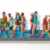 "David Gerstein ""TLV Beach Promenade - (right)"""