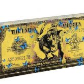 """Devin Miles """"One Dollar Gold - Acrylblock"""""""