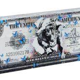 "Devin Miles ""One Dollar Silver - Acrylblock"""