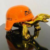 "Diederik van Appel ""Peace Turtle Hermes Golden"""