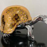 "Diederik van Appel ""Peace Turtle LV golden silver"""