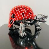 """Diederik van Appel """"Peace Turtle Supreme LV silver"""""""