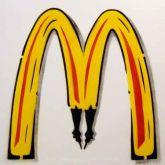 """Thomas Baumgärtel """"McDonalds Metamorphose"""""""