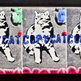 """Kati Elm """"Copycat (3 Katzen)"""""""