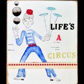 """Kati Elm """"Life s a circus ( jongleur )"""""""