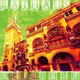 """Fritz Art """"Duisburg Rathaus (Grün)"""""""