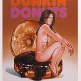 """Mel Ramos """"Dunkin' Donuts"""""""