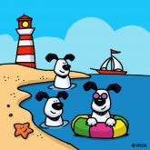 """Ed Heck """"Dogs of Summer"""""""