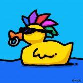 """Ed Heck """"Duck gone wild"""""""