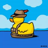 """Ed Heck """"Lederhosen Duck"""""""