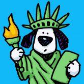 "Ed Heck ""Liberty Dog"""