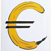 "Thomas Baumgärtel ""Eurobanane (Metall)"""