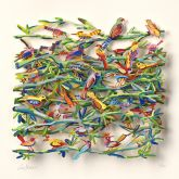 "David Gerstein ""Exotic Birds (Papercut)"""