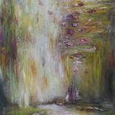 """Dagmar Vogt """"Fallende Blüten I"""""""