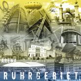 """Fritz Art """"Ruhrgebietscollage blau/grün"""""""